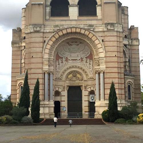 La basilique Sainte Germaine à Pibrac