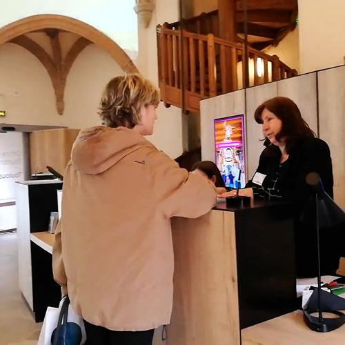Accueil de l'office de tourisme de Toulouse
