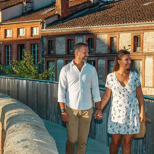 Pour des vacances romantiques, direction Toulouse