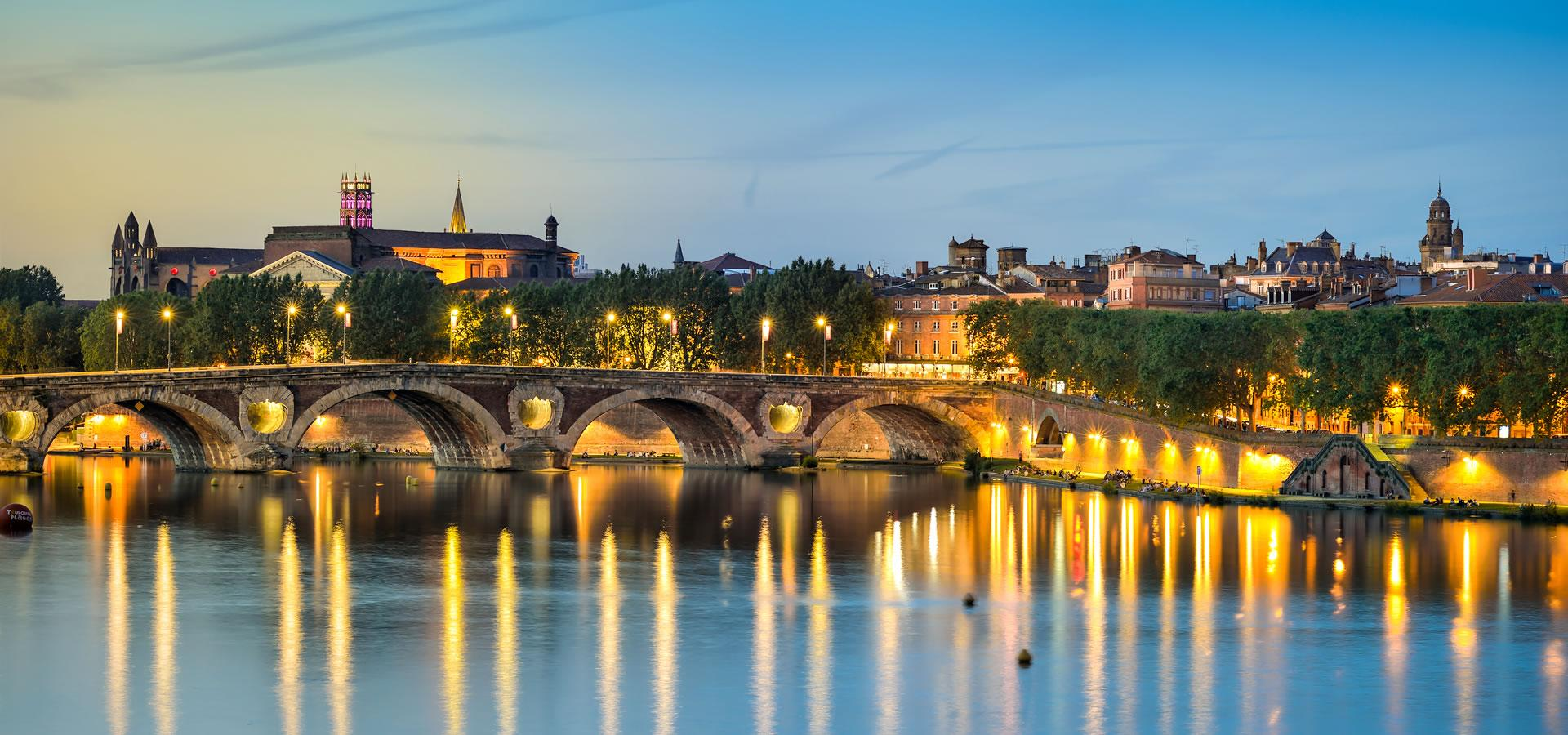 Les bords de Garonne à Toulouse