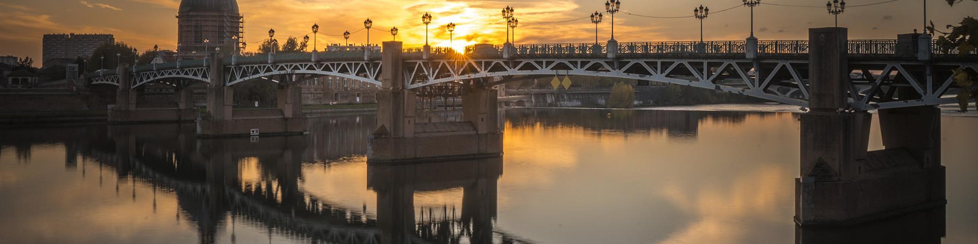 Le pont Saint-Pierre à Toulouse