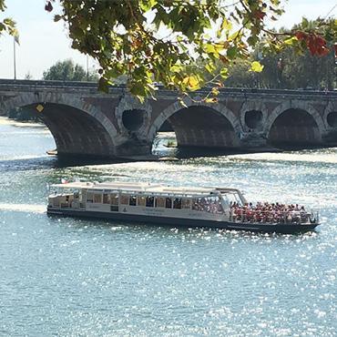 Croisière sur la Garonne avec les Bateaux Toulousains