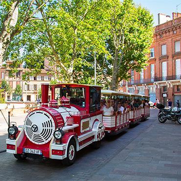 Le Train touristique - visitez Toulouse