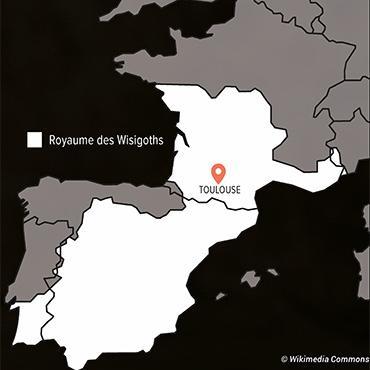 Le royaume Wisigoths